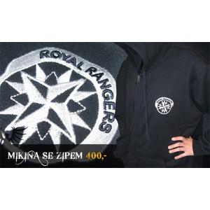 Mikina s logem Royal Rangers ČR