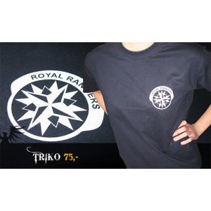 Tričko s logem Royal Rangers v ČR